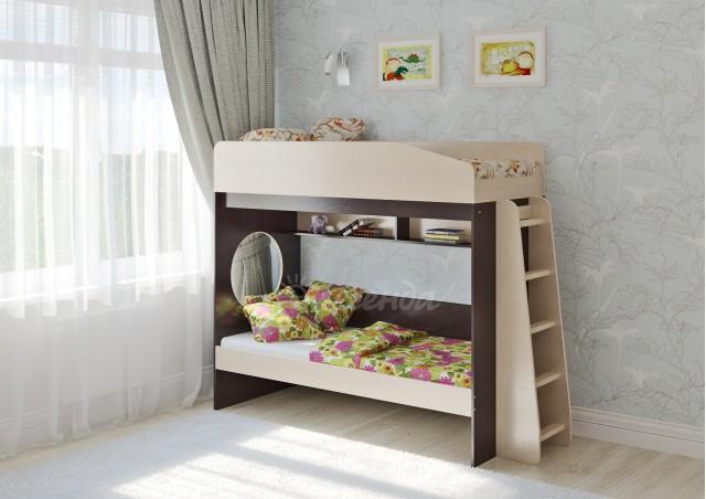 Двухъярусная кровать Легенда 10.1