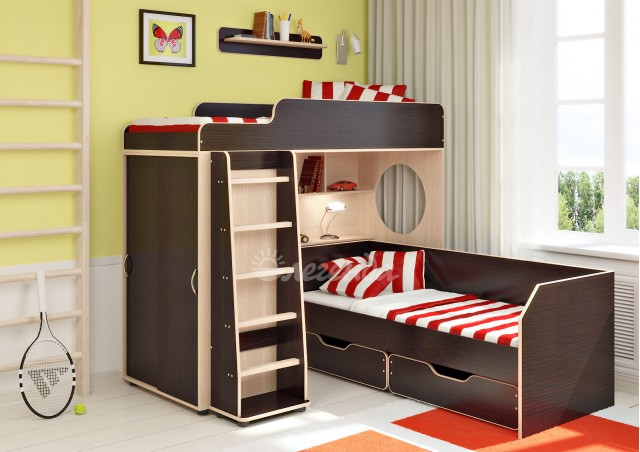 <span>Двухъярусная кровать</span> Легенда 5.4