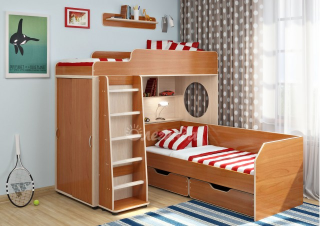 Двухъярусная кровать Легенда 5.4