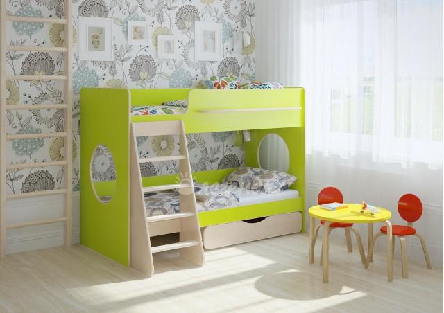 Двухъярусная кровать Легенда 25.2