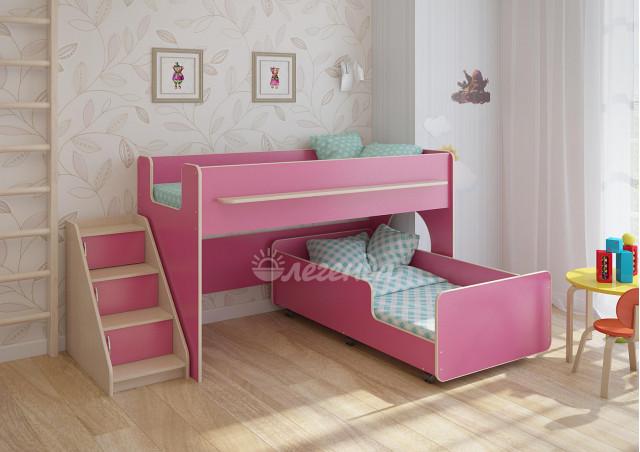 Детская выкатная кровать Легенда 23.4
