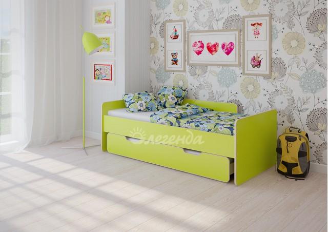 Детская выдвижная кровать Легенда 14.2