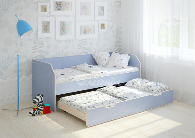 Детская выдвижная кровать Легенда 13.2