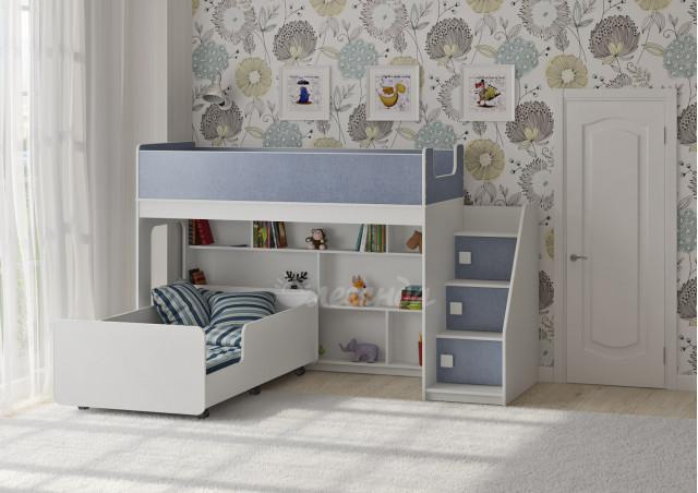 Двухъярусная кровать Легенда 43.3.3
