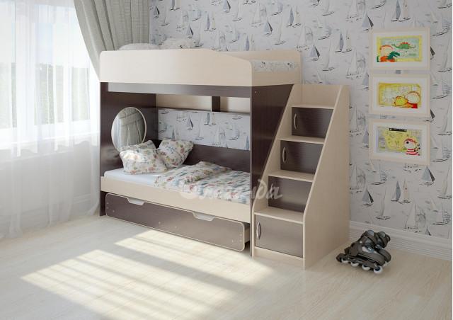 Двухъярусная кровать Легенда 10.5