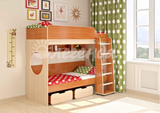 Двухъяусная кровать Легенда 7.1