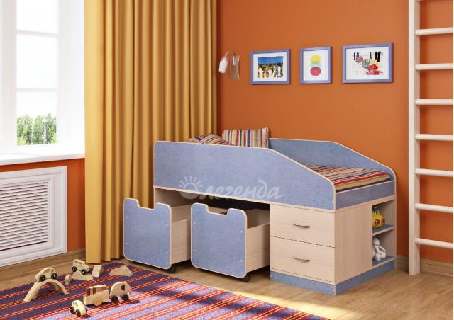<span>Детская кровать от 3 лет</span> Легенда 8