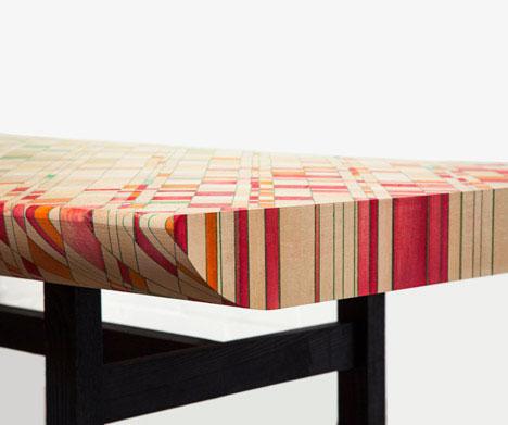 Красочная мебель