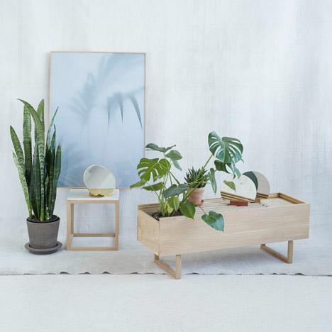 Мебель из дуба от датского дизайнера