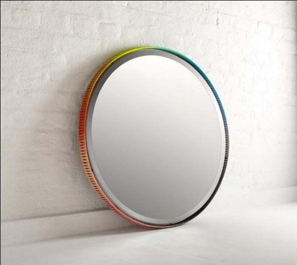 Зеркала с цветными рамами