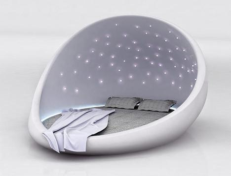 Кровать со звёздным небом
