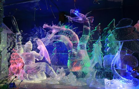 В Апатитах под Новый год откроется «Галерея ледовых скульптур»