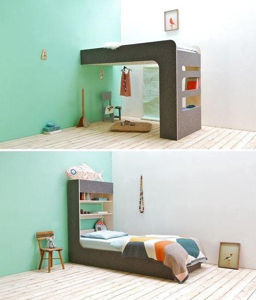 Кровать-перевертыш