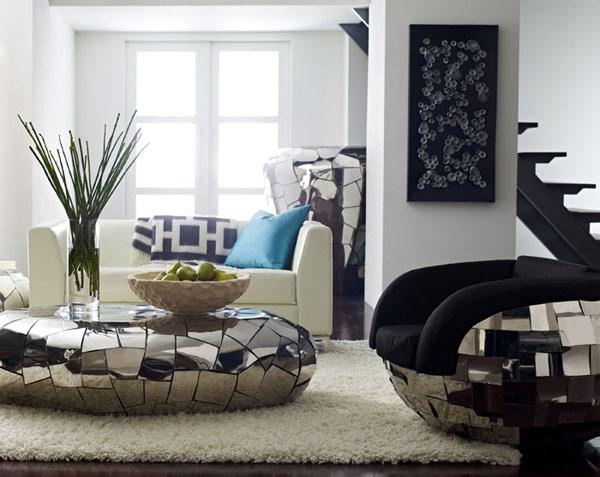 Мебель с мозаичной отделкой