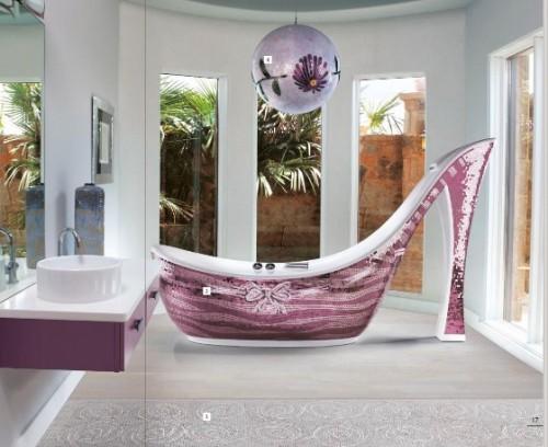 Ванна-туфелька