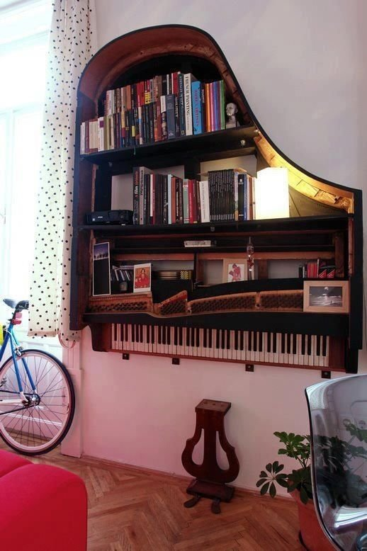 Полка-фортепиано