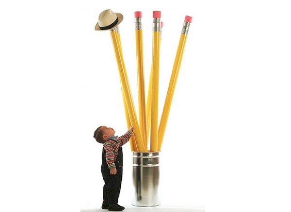 Вешалка-карандаш