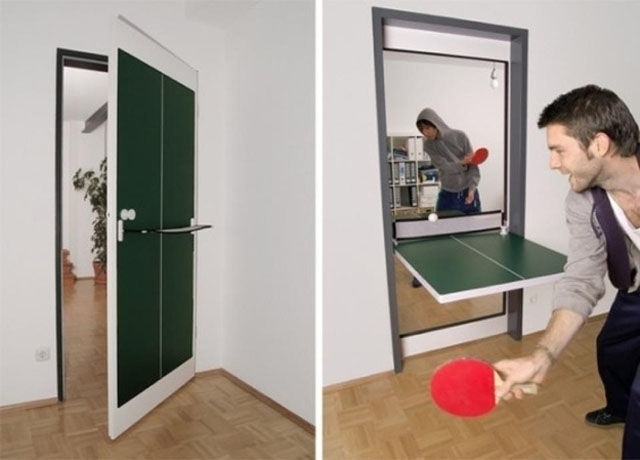 Дверь - стол для пинг-понга