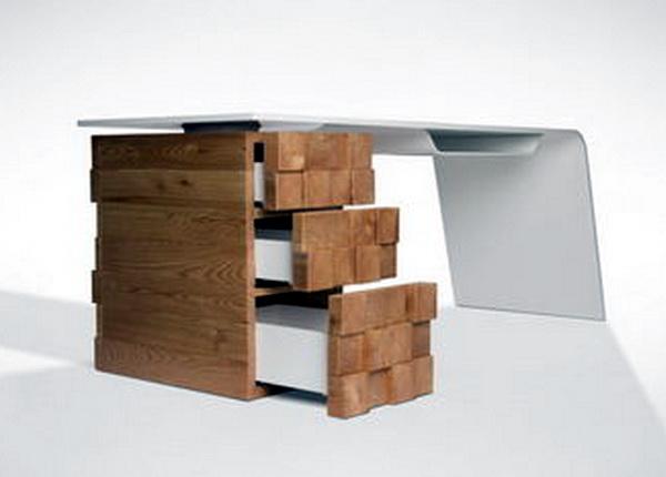 Необычный офисный стол