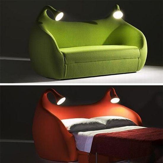 Тёплая ламповая кровать