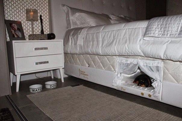 Встроенная кроватка для домашнего питомца