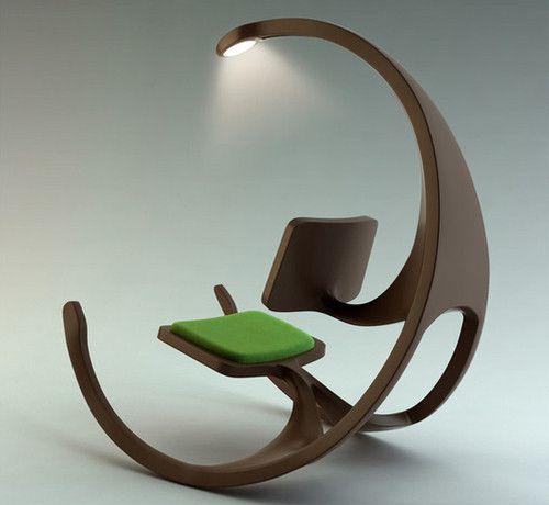 Кресло-качалка с освещением