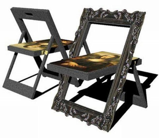 Mona Lisa chair