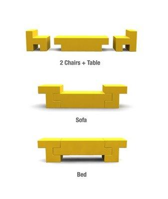 Стулья-стол-софа-кровать