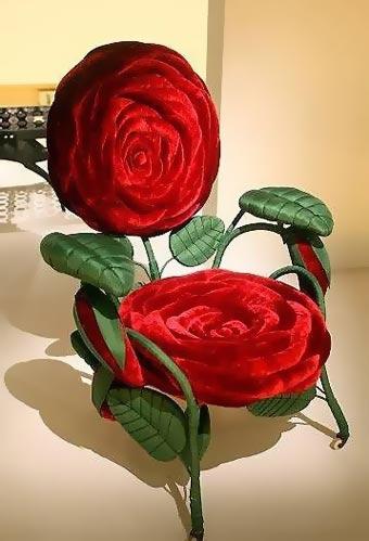 Кресло-роза