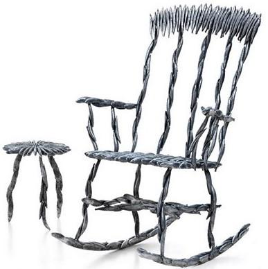 Кресло в селёдочку