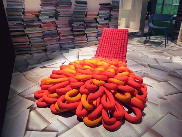 Кресло-ковёр