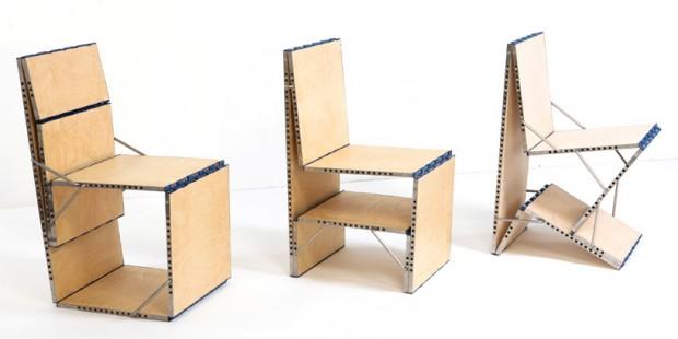Cтол-cтул-кресло Loop Chair