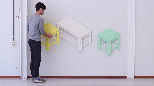 Мебель в двух измерениях