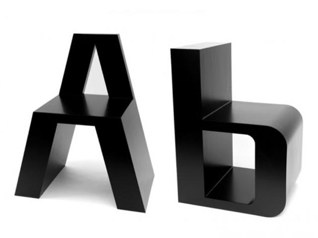 Стульчатый алфавит