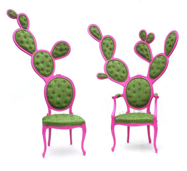 Стулья-кактусы