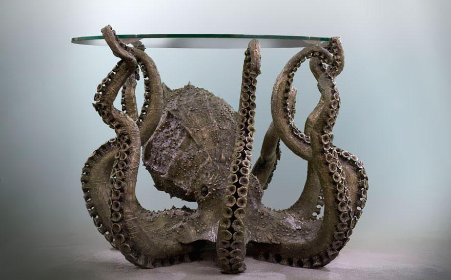 Стол-осьминог