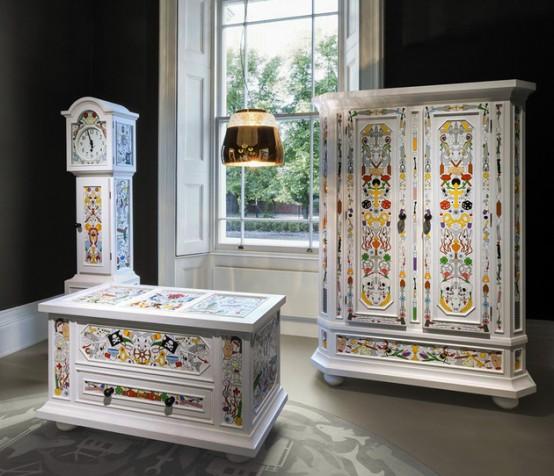 Мебель Monclage от Moooi