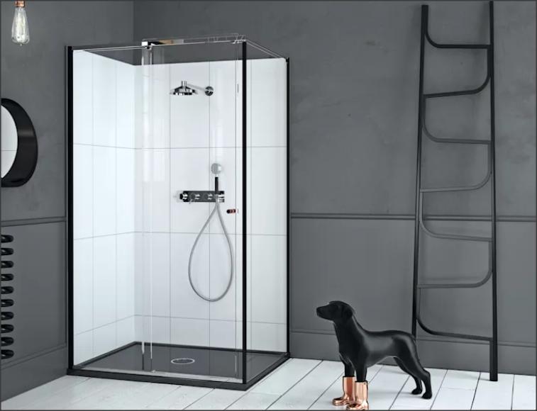 Собака в ванную