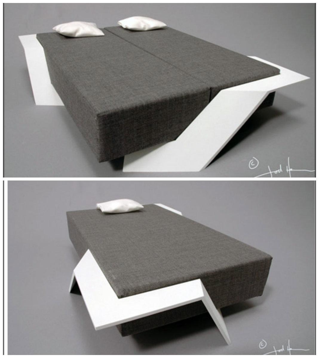 Плавающая кровать на любое количество мест