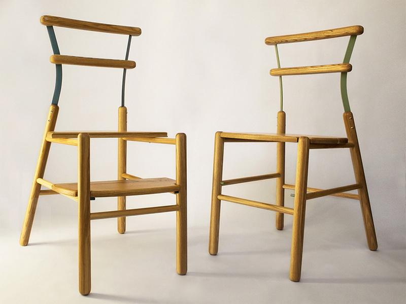 В Милане представили стул-трансформер